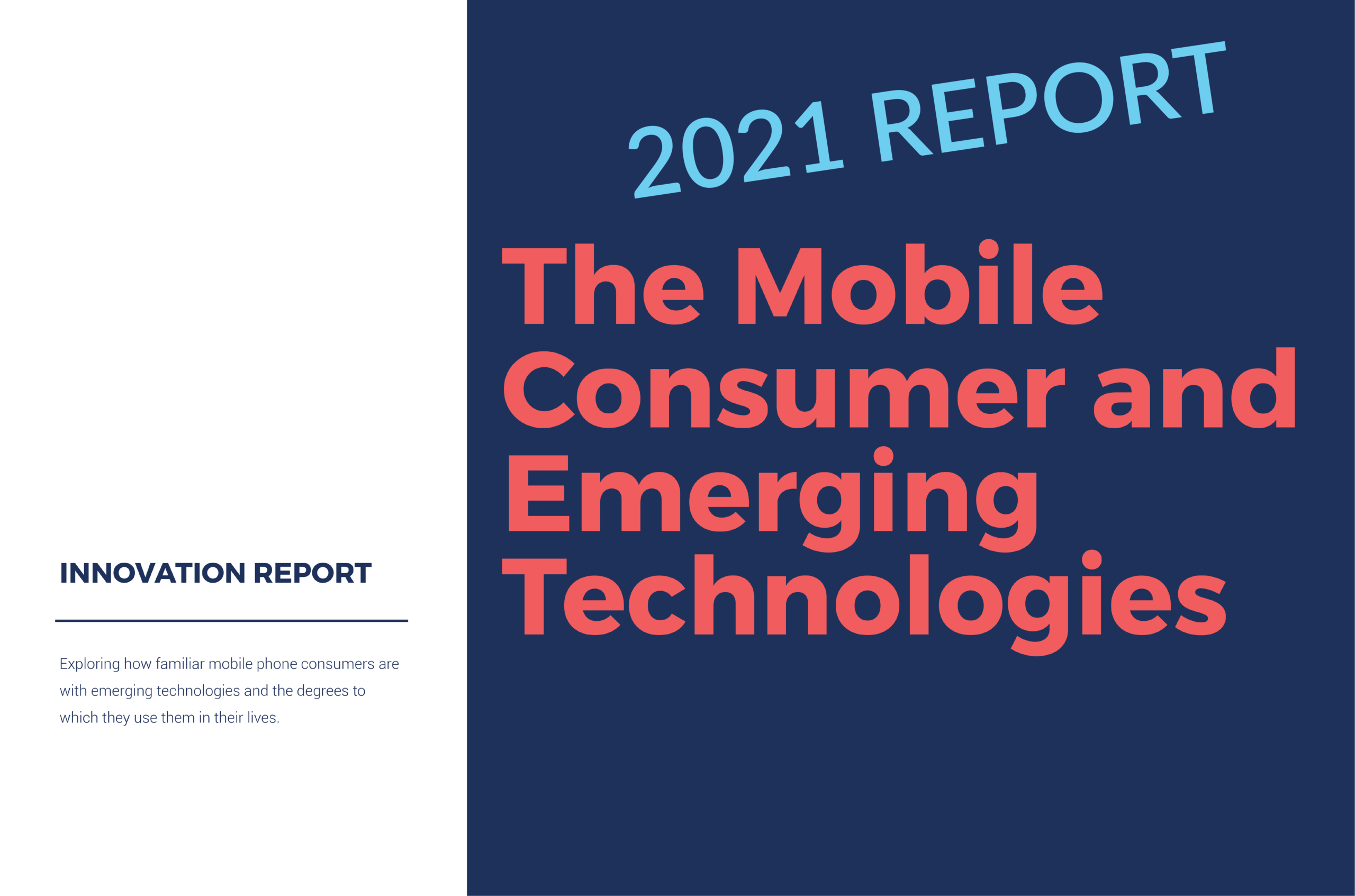 Cover of the Mobile Consumer and Emerging Technology Report